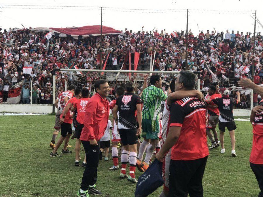 Ñuñorco goleó a Villa Mitre y es el nuevo campeón de la Liga Tucumana