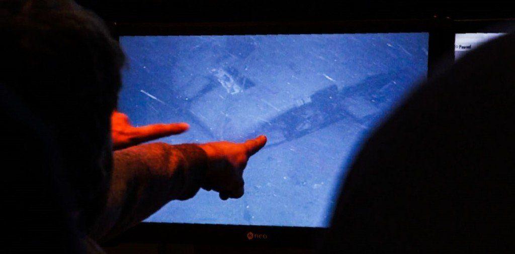 La empresa Ocean Infinity difundió el video del momento en que encontró el ARA San Juan