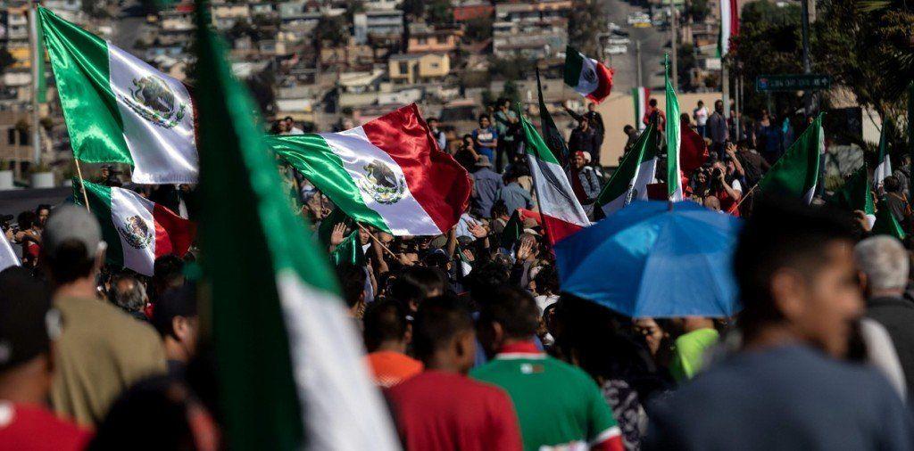 Tensión en Tijuana ante la llegada de la caravana de inmigrantes hondureños