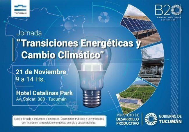 Tucumán debatirá sobre energía, sustentabilidad y eficiencia