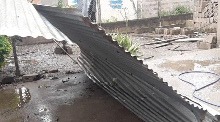 El Estado asiste a familias del interior afectadas por la lluvia