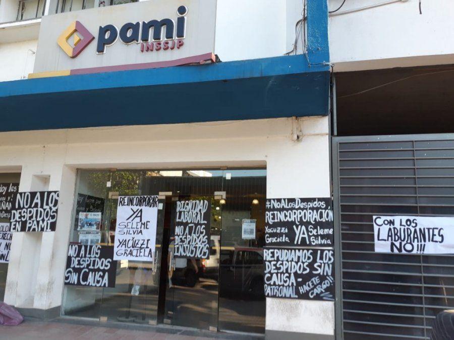 Paran los trabajadores del PAMI por despidos