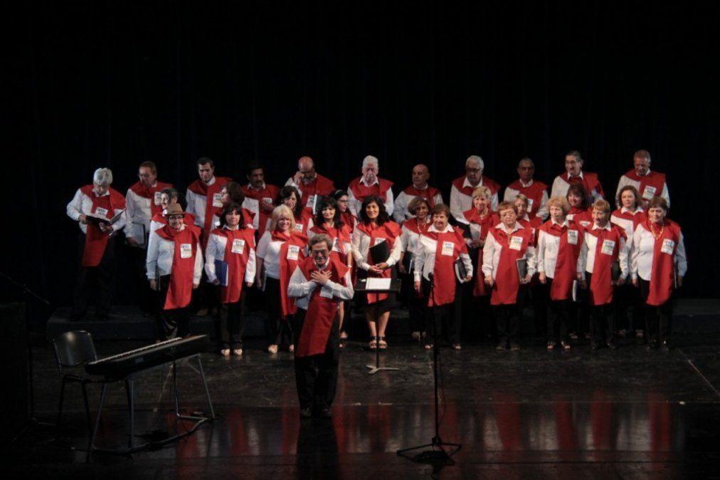Adultos Mayores festejarán el día de la cultura con un encuentro de coros
