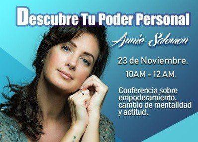 """Annie Salomón llega a Tucumán para presentar: """"Belleza, Actitud y Espiritualidad"""""""
