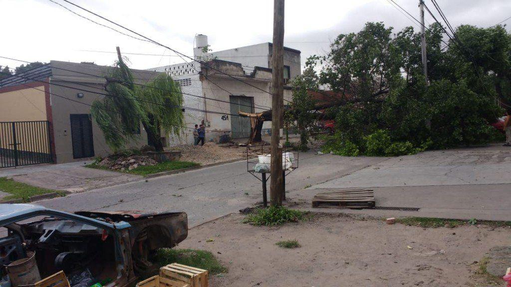 La zona norte de la provincia y la capital fueron las más afectadas por el temporal