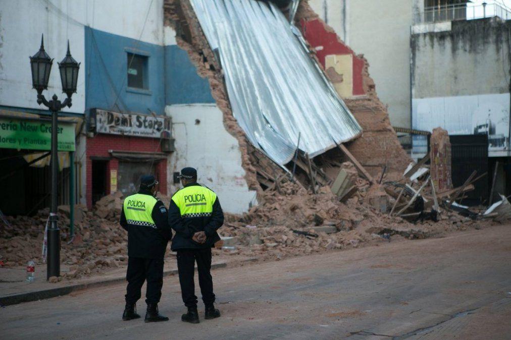 A seis meses del derrumbe del Parravicini, los familiares de las victimas piden justicia