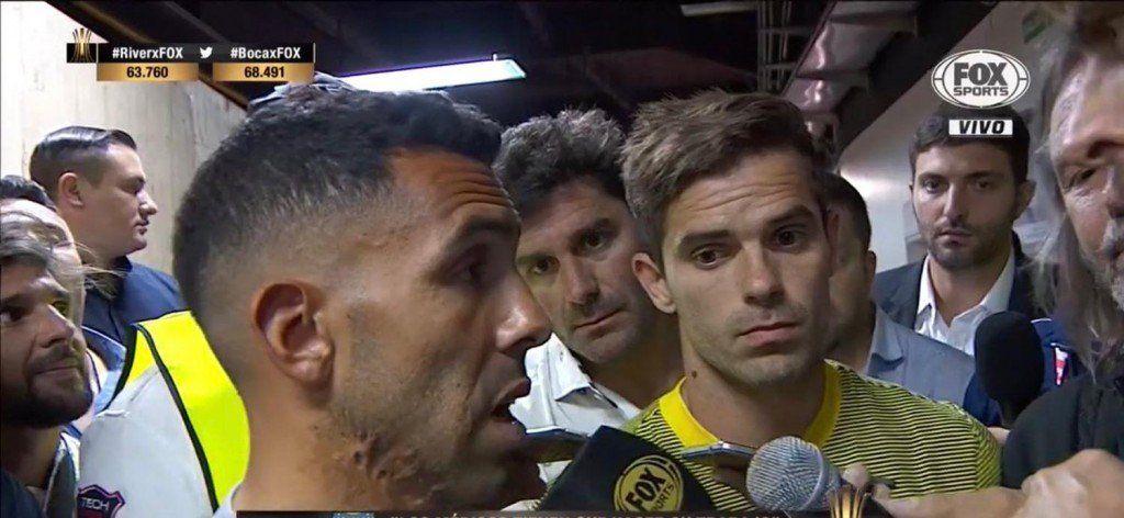 Tevez apuntó contra los jugadores de River: ´No vinieron a vernos´