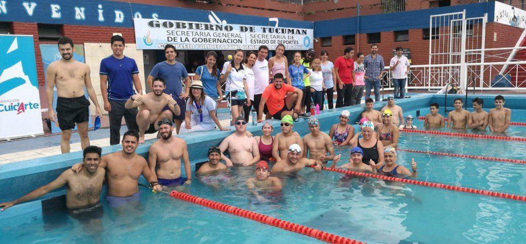 Realizaron una jornada de instrucción con nadadores y personas discapacitadas