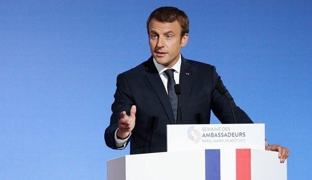 Emmanuel Macron aseguró que la Unión Europea necesita una refundación en profundidad