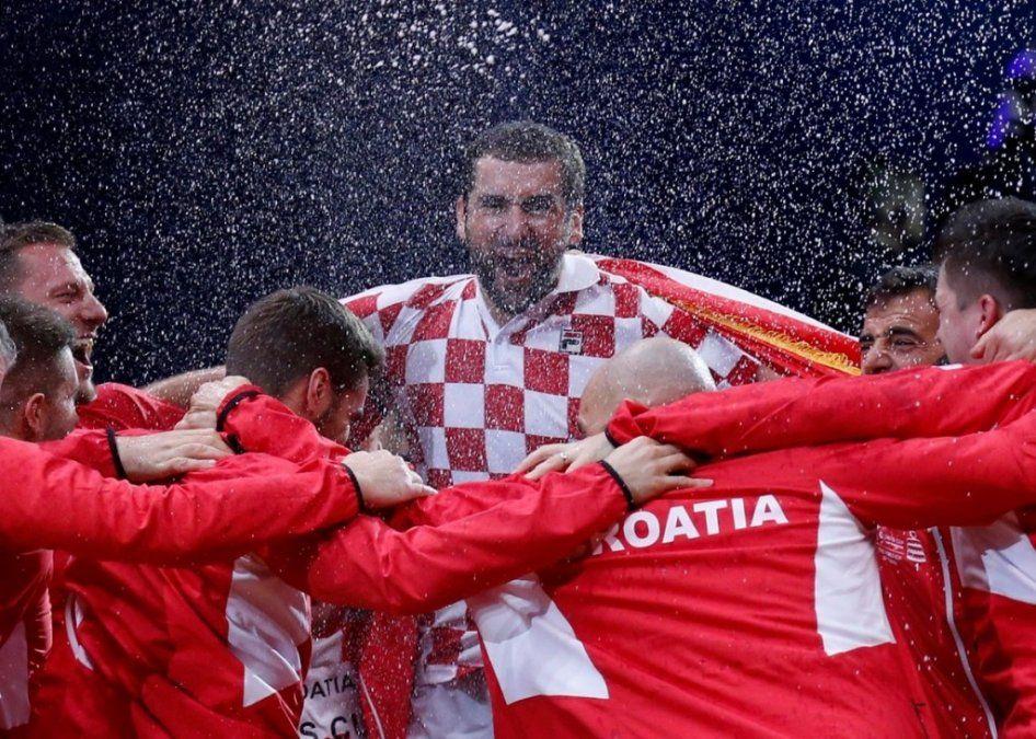Croacia se consagró campeón de la última edición de la vieja Copa Davis