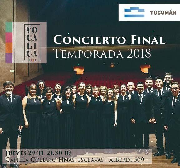 Vocálica celebra su 5º aniversario con un concierto gratuito