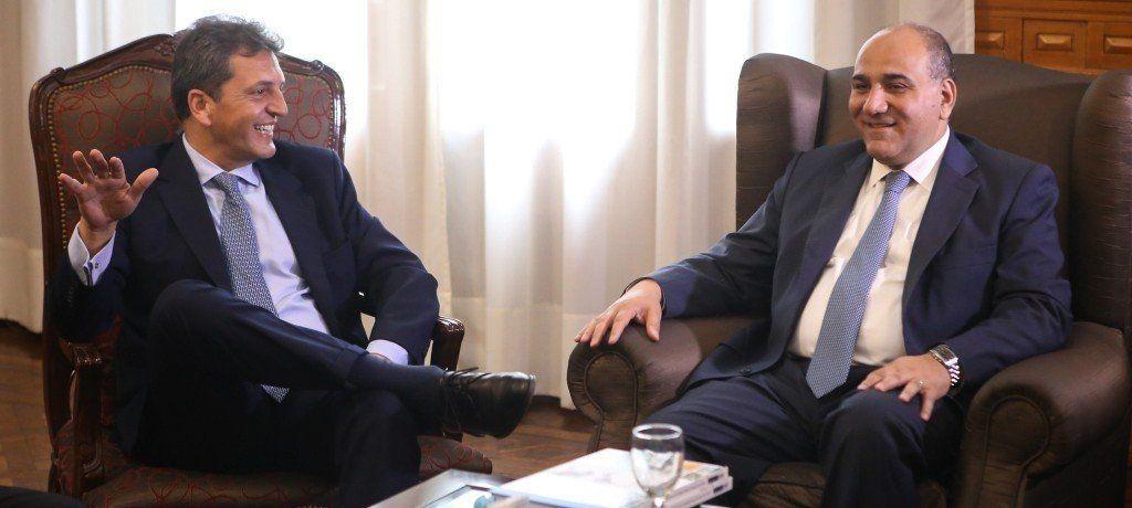 Manzur y Massa analizaron la actualidad de las economías regionales