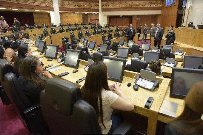 Chicos de una escuela de alta montaña conocieron el Poder Legislativo