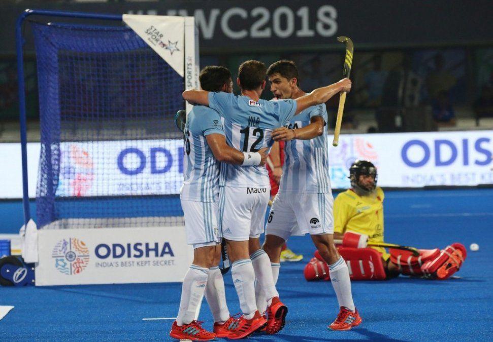 Mundial de hockey: los Leones y un debut con un triunfo para empezar a soñar