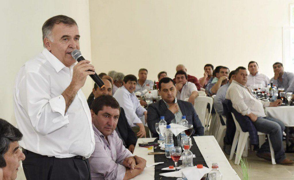 Jaldo se reunió con referentes del este de la provincia