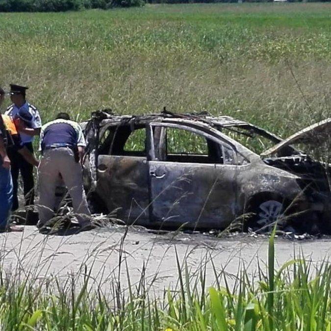 Detuvieron a tres policías vinculados al tiroteo e incendio de un auto en la ruta 38