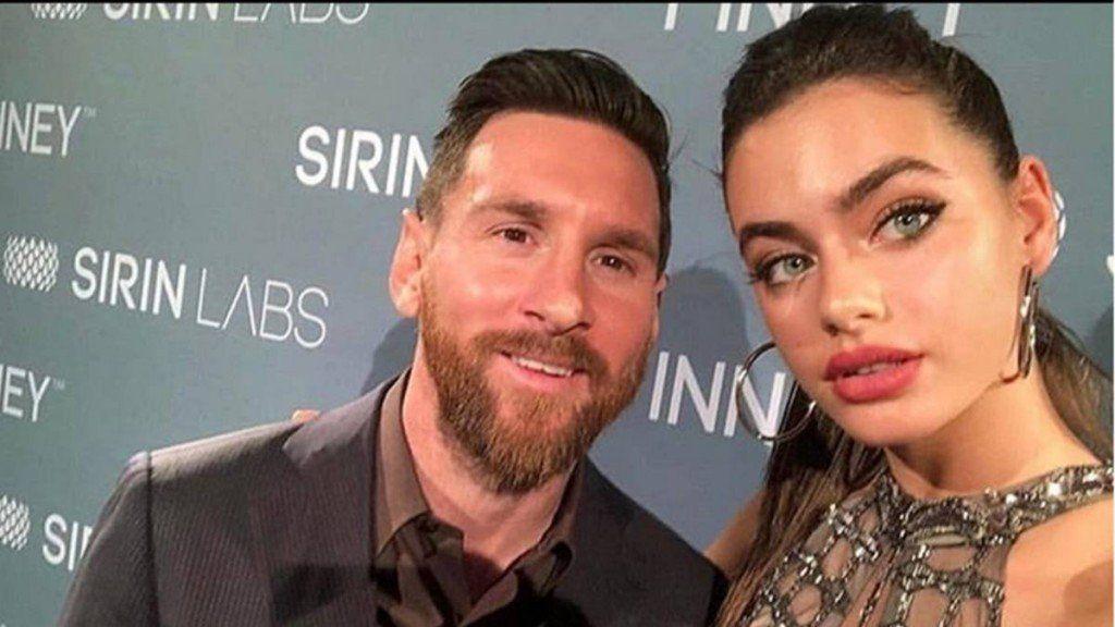 El momento súper incómodo de Leo Messi con una modelo israelí