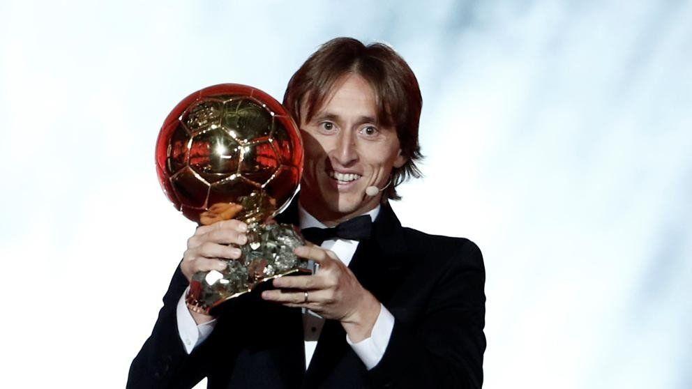 Luka Modric se queda con el Balón de Oro
