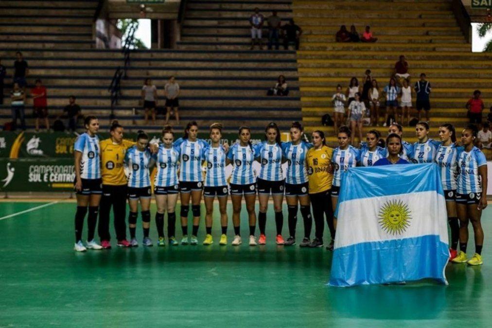 Las chicas del handball clasificaron al Mundial