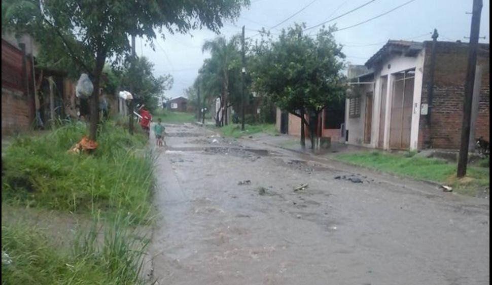 No se registraron evacuados en la provincia como consecuencia de la tormenta