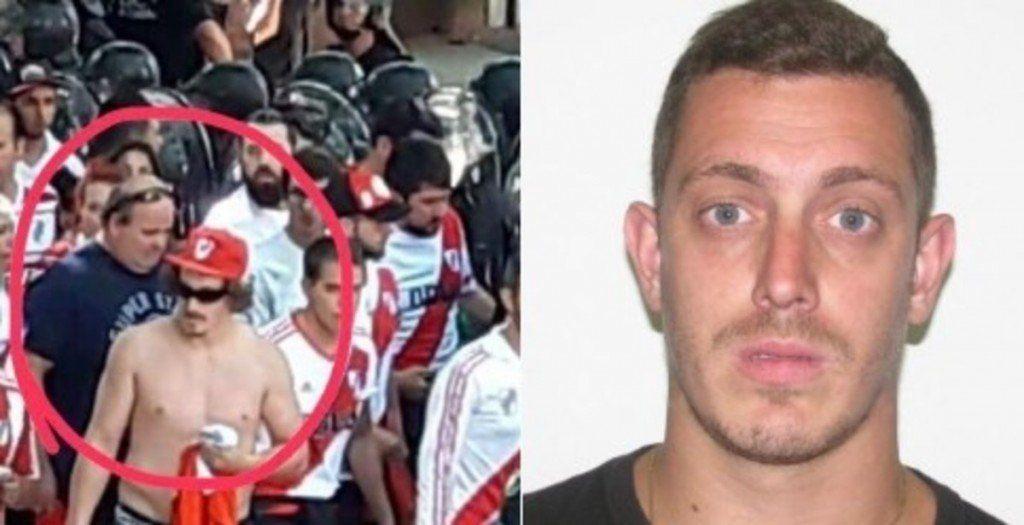 Habló Matías Firpo, el hincha que atacó el micro de Boca: ´Estaba tomando algo y se me ocurrió tirar la botella´