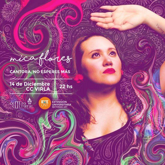 Mica Flores presenta su primer disco en el Virla