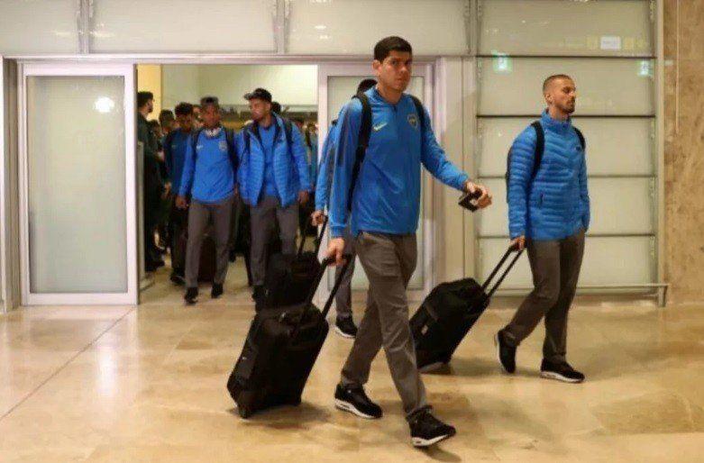 Luego de la derrota, Boca llegó a Argentina