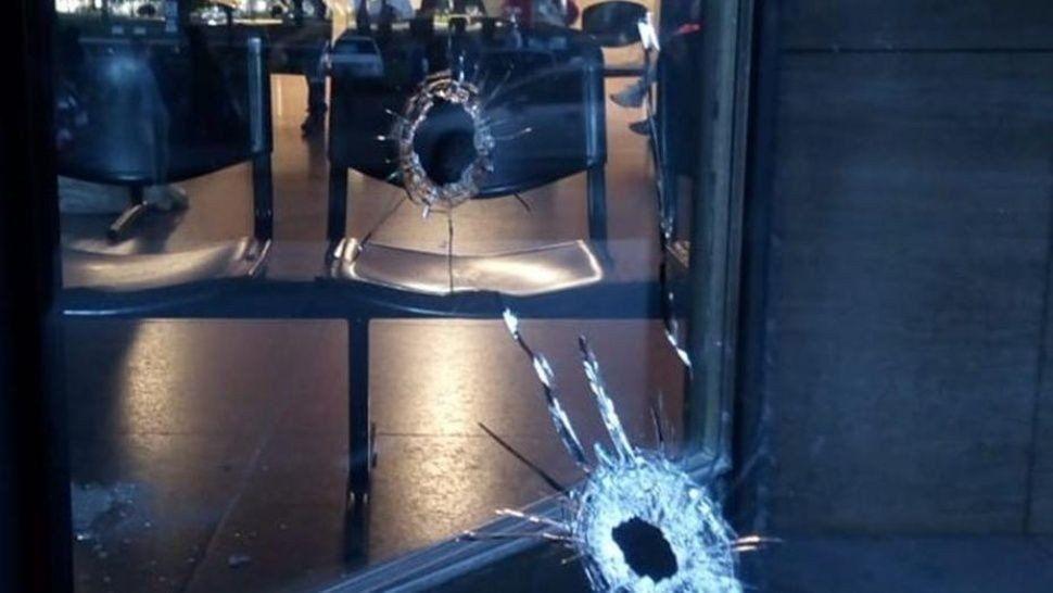 Rosario: Atacaron a balazos el frente de edificios judiciales