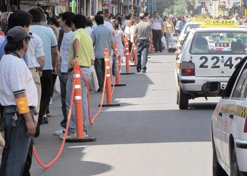 Los peatones tendrán más espacio para caminar por el microcentro