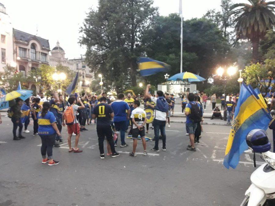 El hincha de Boca festejó su día a pesar de la histórica derrota