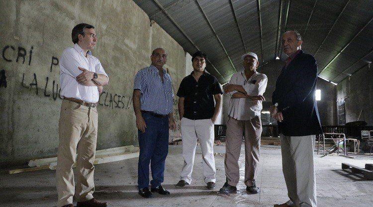 Se iniciaron las obras de remodelación del Centro Cultural Juan B Terán