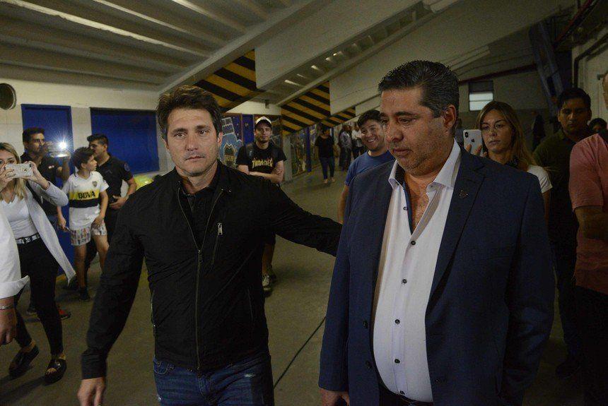 Angelici y la decisión de no renovar el contrato de Guillermo Barros Schelotto