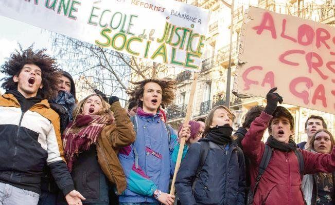 Ambiente de calma en una nueva protesta de los chalecos amarillos