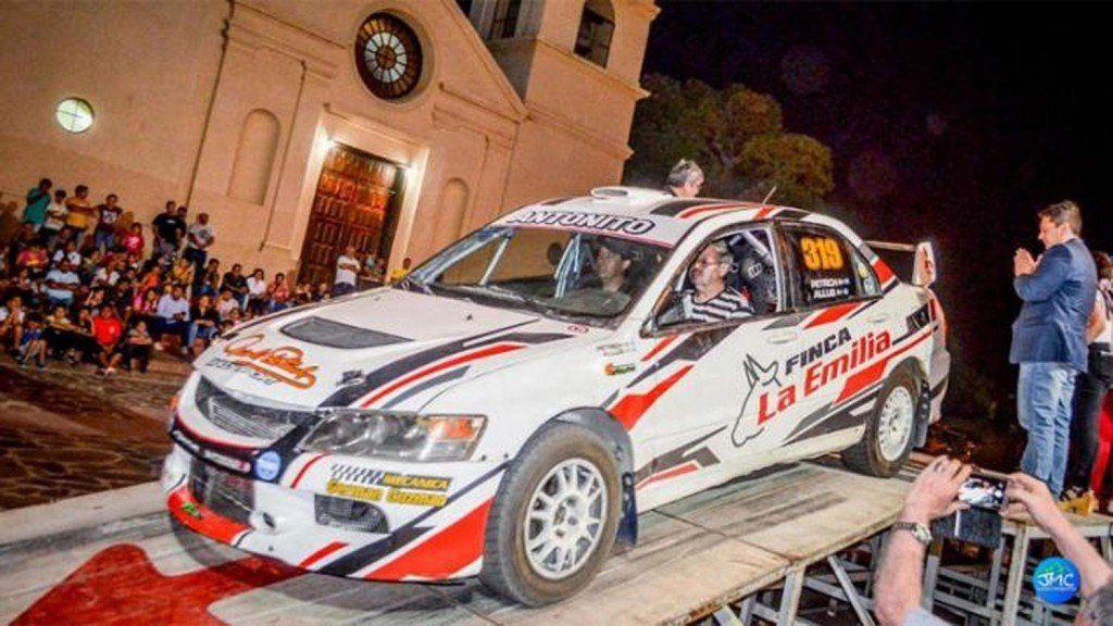 Un piloto de Rally murió de un infarto a tres kilómetros de comenzar la carrera