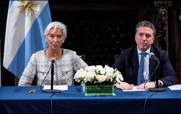 El Tesoro ya utilizó el 75% de los desembolsos de dólares que recibió del Fondo Monetario
