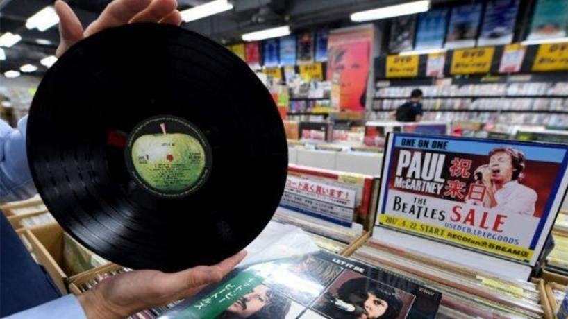 Música y de la buena en la feria de vinilos