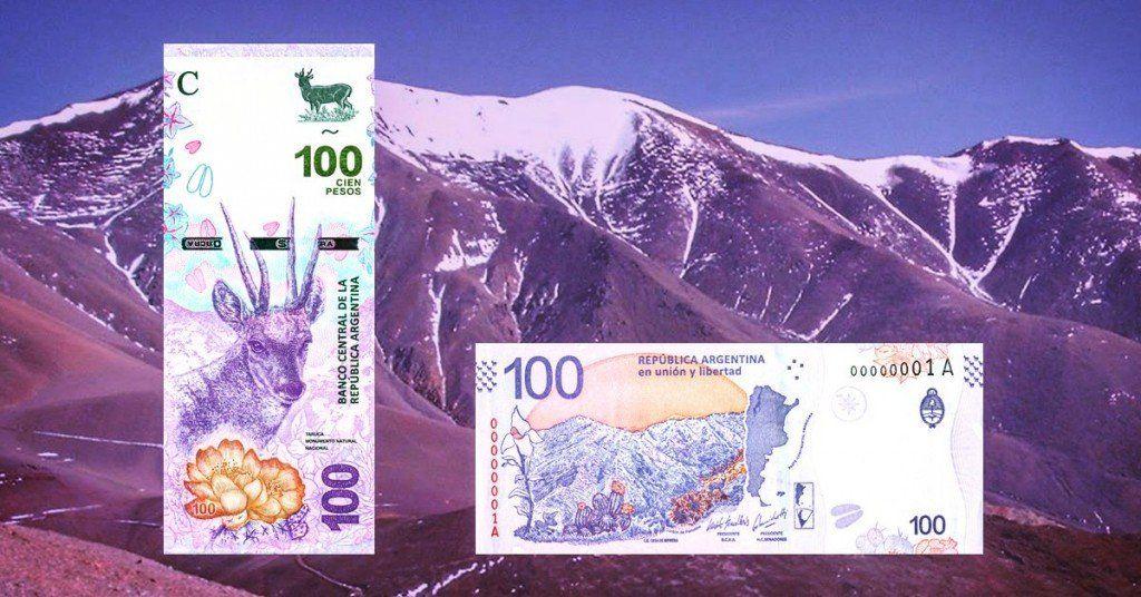 Se puso en circulación el nuevo billete de $100 y se distribuirá desde mañana