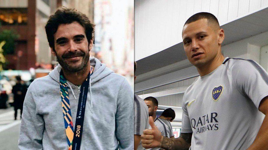 Nicolas Cabré desgastó a Mauro Zarate en una escena de Mi Hermano es un Clon