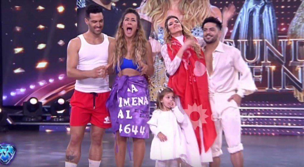 Jimena Baron y Mauro Caiazza son los segundos finalistas de Showmatch 2018