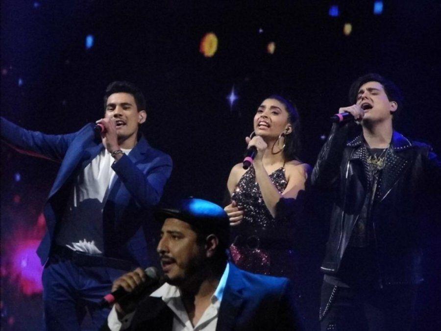Los finalistas de ´La Voz Argentina´fueron ovacionados en el Gran Rex