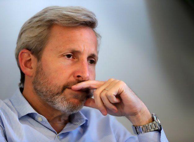Frigerio: ´Hoy la prioridad es no volver a caer en una crisis cambiaria´