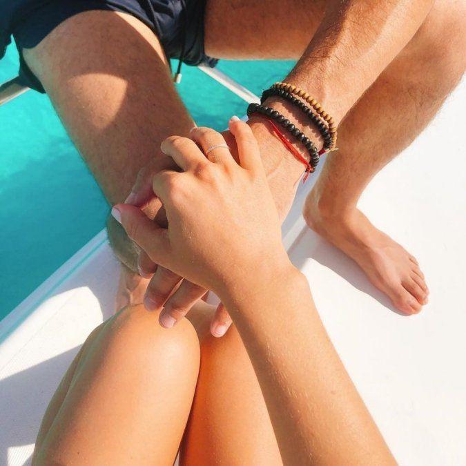 El Pollo Alvarez le pidió matrimonio a su novia durante sus paradisíacas vacaciones
