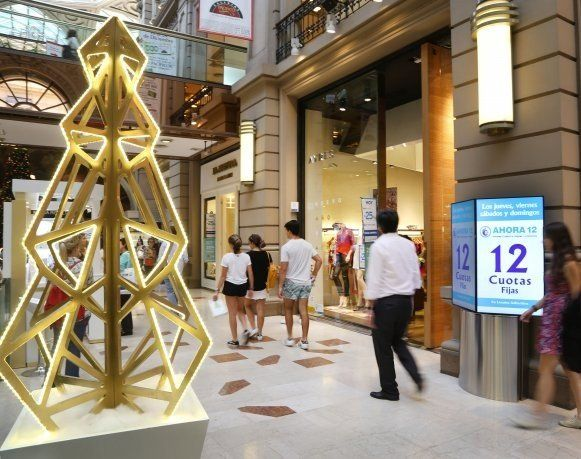 Navidad: las ventas minoristas cayeron un 9%