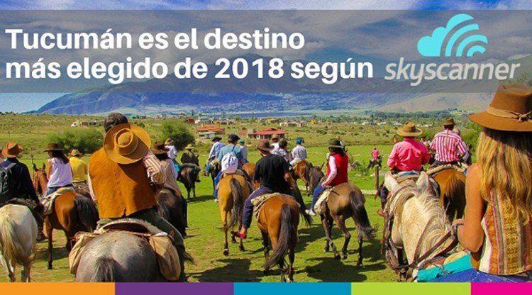Tucumán es el destino que más creció en 2018 según Skyscanner
