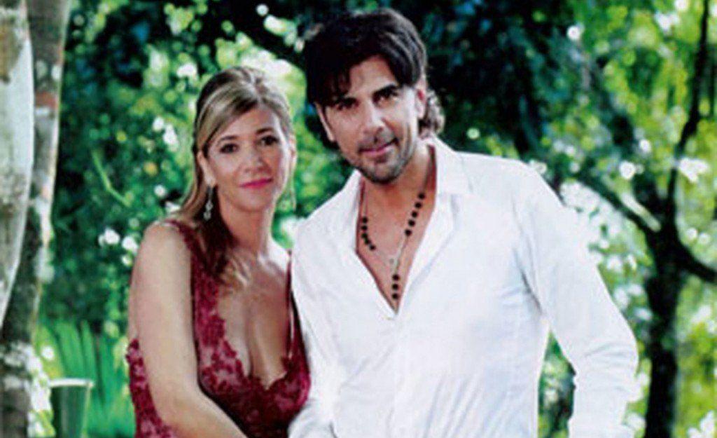 La esposa de Darthés viajará a Brasil y desmintió una separación