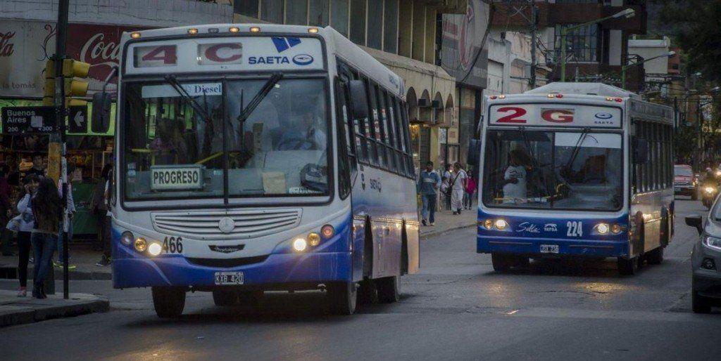 En Salta, el transporte subirá su valor un peso por mes en 2019