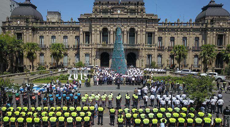 Manzur presentó la Policía Municipal de Prevención Local