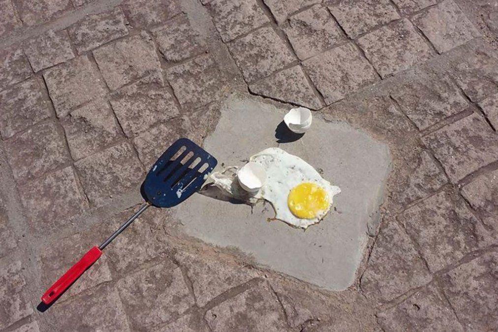 Comenzó la temporada de la prueba del huevo frito
