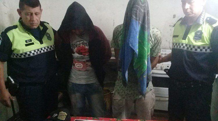 Aprehenden a delincuentes que robaban en una fábrica de helados