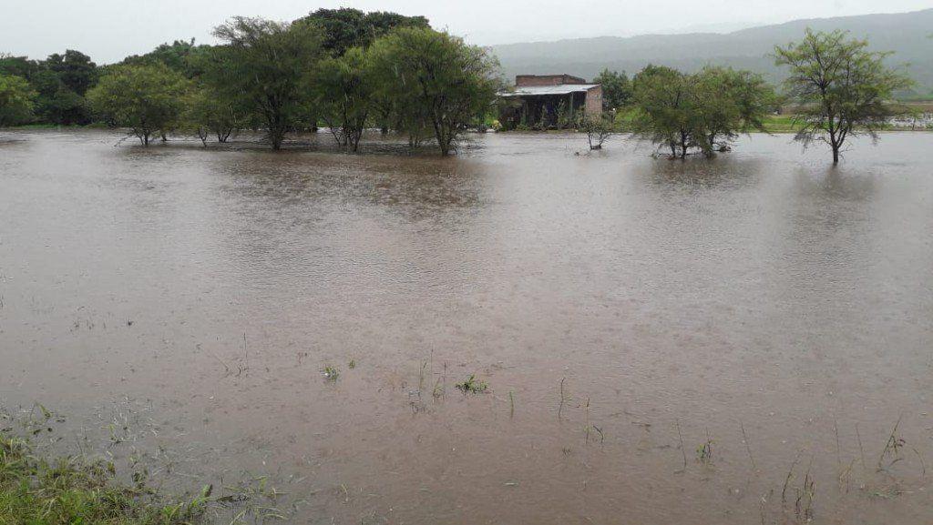 Entre unas 30 y 40 familias resultaron afectadas por el temporal